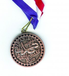 Sports medal for Kiwanis challenge coin military coin.